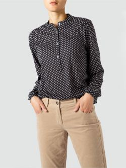 Marc O'Polo Longsleeve mit Allover-Muster