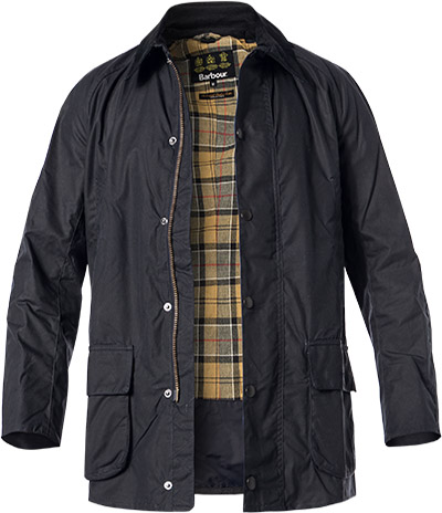 Barbour Jacke Bristol Wax navy MWX0086NY92