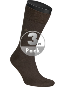 Burlington Socken Leeds 3er Pack 21007/5930