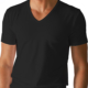 Mey DRY COTTON V-Shirt schwarz 46007/123