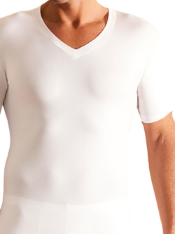 Novila Stretch Cotton V-Shirt 8035/05/1